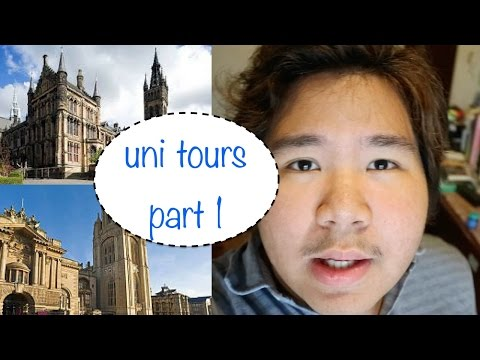 UNI TOURS PART 1: BRISTOL & GLASGOW || Ash Layo