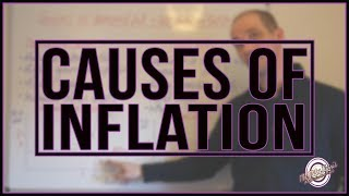 Causes of demand pull & cost push inflation. Inflation analysis.