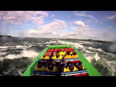 Saute Moutons Jet Boating Montréal GoPro
