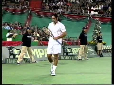 1998 Grand Slam Cup Final M Rios vs A Agassi