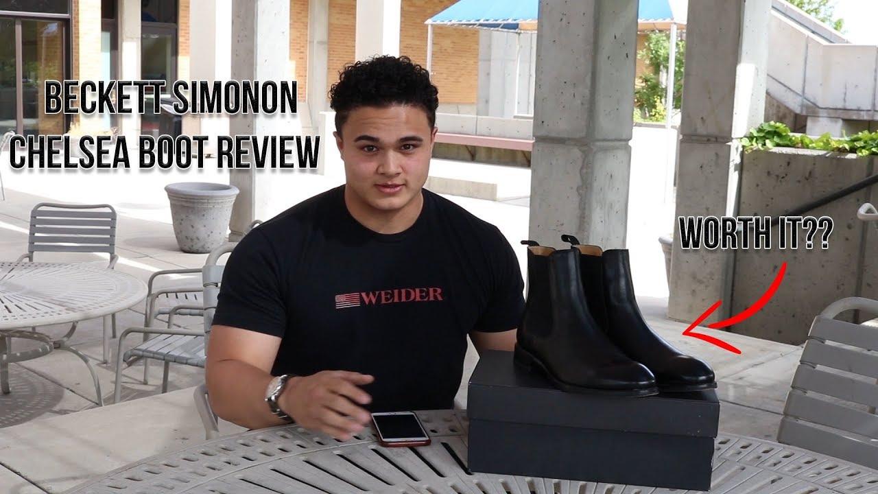 Beckett Simonon Chelsea Boot Review