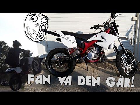 First ride Yamaha DT50 [Svensk Motovlogg]