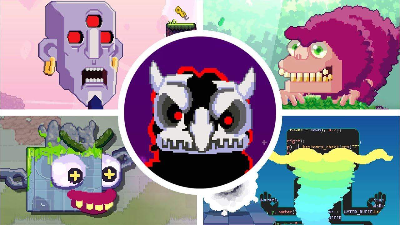 Download Toodee and Topdee - All Bosses + True Ending [No Damage]