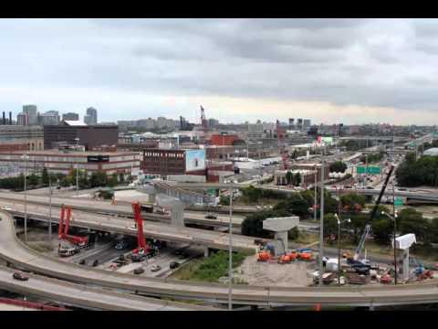 Jane Byrne Flyover Ramp Construction 2015: Camera 2