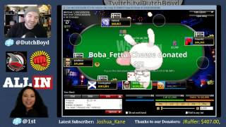 Winning back-to-back online poker tournaments on Twitch!