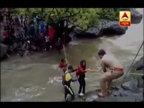 Raigarh: 55 students stuck in Devkund Waterfall rescued after 3 hour long operation
