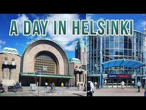 Vlog - A Day in Helsinki!