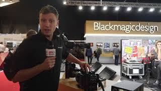 Blackmagic präsentiert URSA Broadcast Kamera