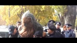 Полиция задержала Чубаку в Одессе  Полная версия. Чубакка Одеса| Star wars Odessa 25.10.2015