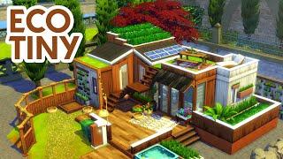 TINY ECO HOME 🌱 // Sims 4 Speed Build