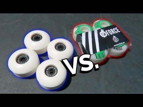 BLANK SKATEBOARD WHEELS vs PRO SKATEBOARD WHEELS