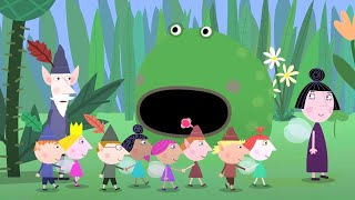 Ben and Holly's Little Kingdom | Ben and Holly go to School | HD Cartoons for Kids