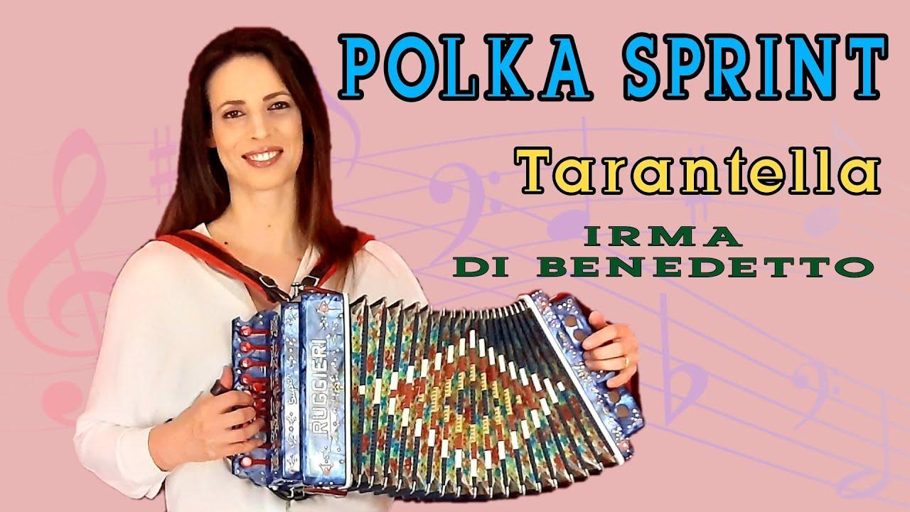 Polka Sprint (tarantella) Organetto Abruzzese Accordion,  Irma Di Benedetto di Gabriele Di Pietro
