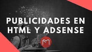 Publicidades en HTML o de AdSense