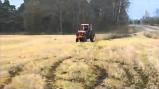 Виражи на тракторе