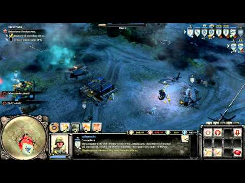 Company of Heroes 2 Theater of War Challenge Schildkroteberg on General difficulty