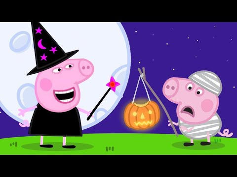 Peppa Pig English Episodes 馃巸 Pumpkin Competition! 馃巸Peppa Pig Official
