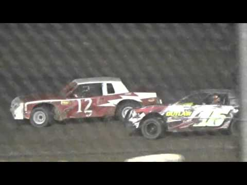 Ark La Tex Speedway factory stock heat 7 part 1 cajun classic