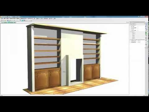 Top rails in kitchen cabinets with polyboard software doovi for Proyectos polyboard