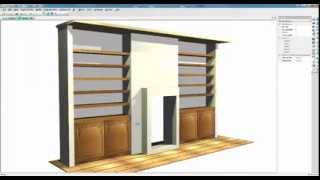 Setting up Furniture in Alcoves with Polyboard