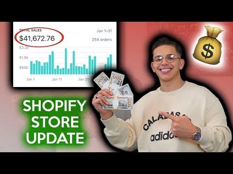 My Shopify Drop Shipping Business Update | Samir Chibane