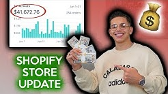 My Shopify Drop Shipping Business Update | Samir Chibane