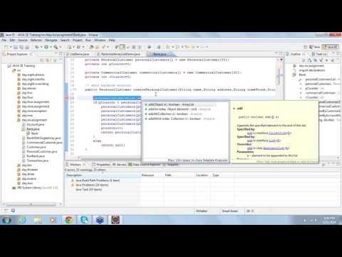 Java Training Day 13 java programming