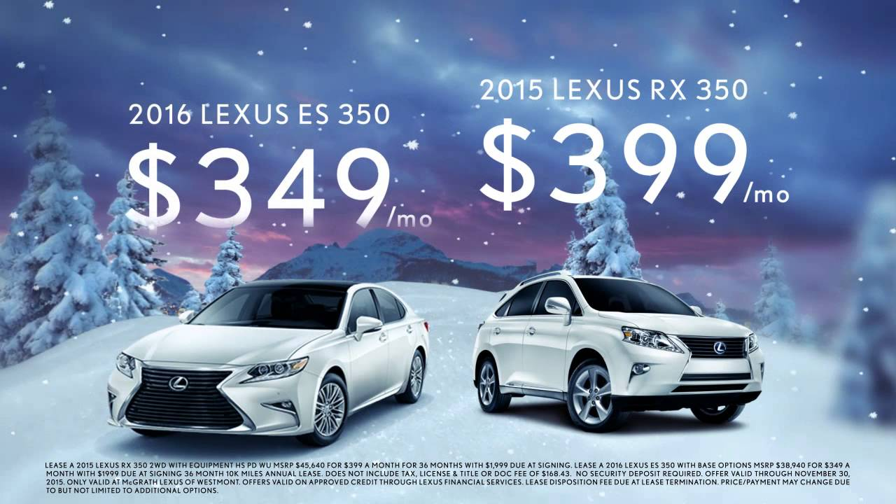December To Remember Is Already On At McGrath Lexus
