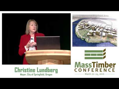 A Public Partnership: Designing with Cross-Laminated Timber - Christine Lundberg and Judith Sheine