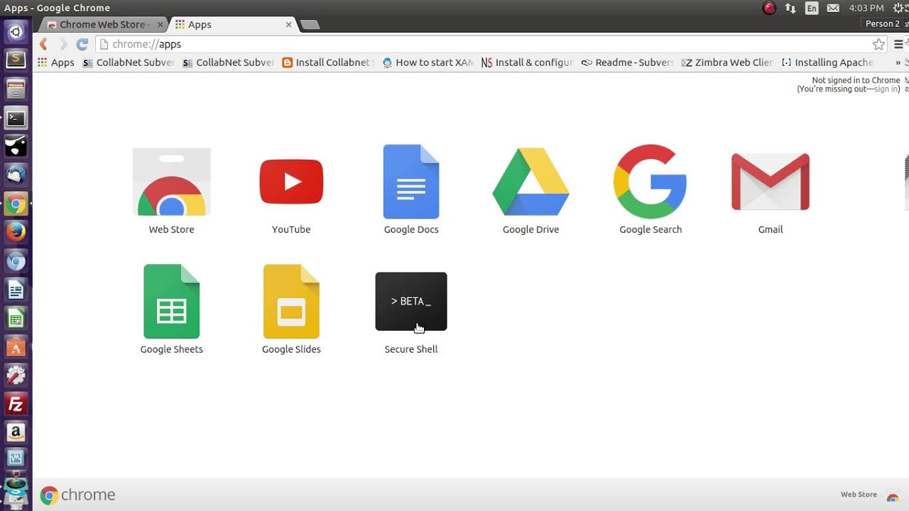 How to use SSH from google chrome browser