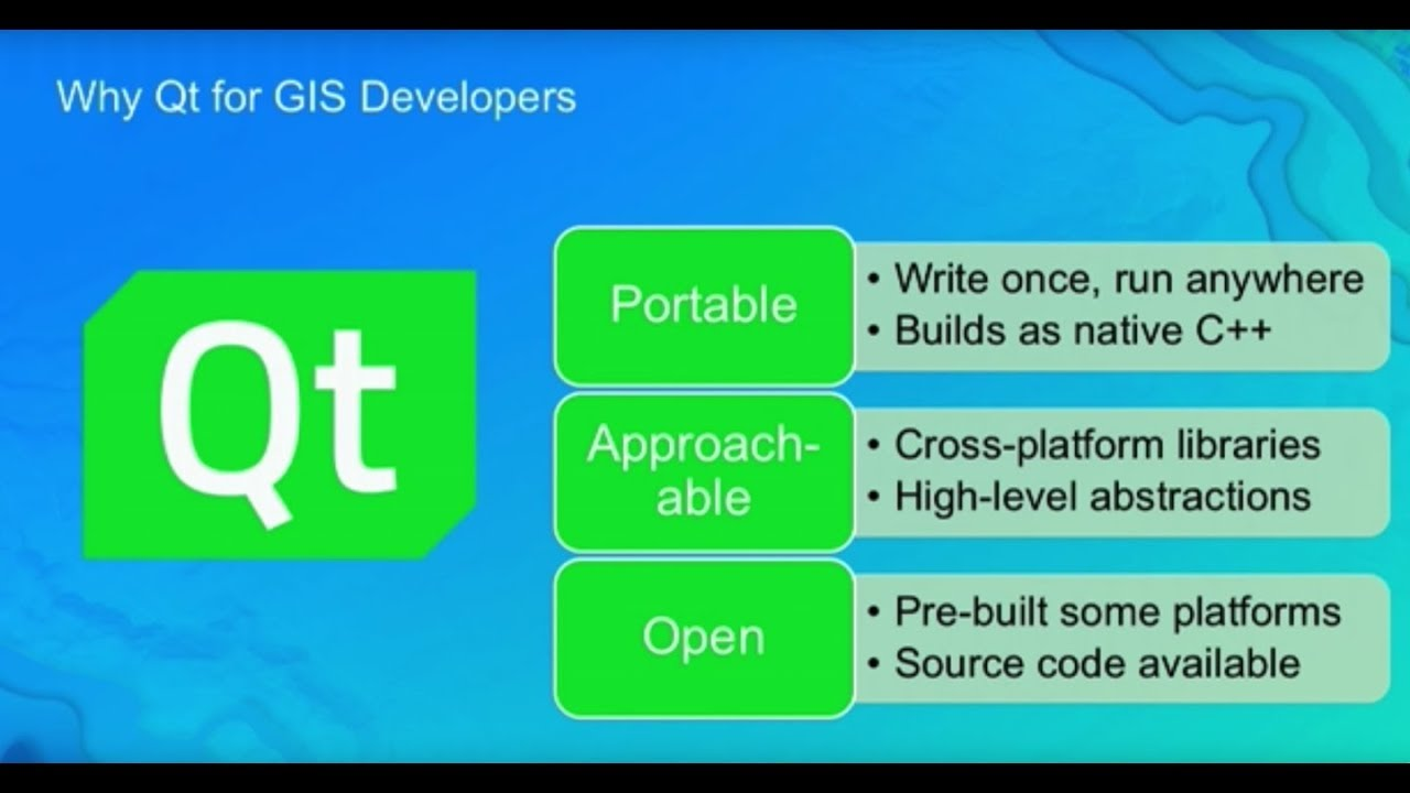 ArcGIS + Qt to Power Your Cross-Platform Apps