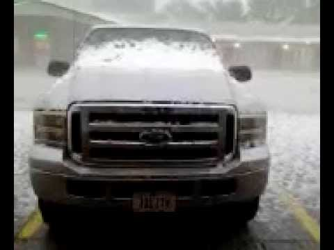 Crook County Sundance Wyoming Hailstorm