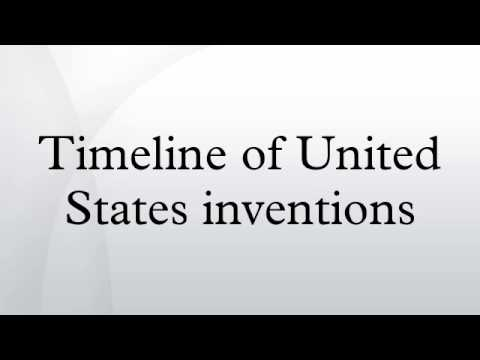Timeline of United States inventions