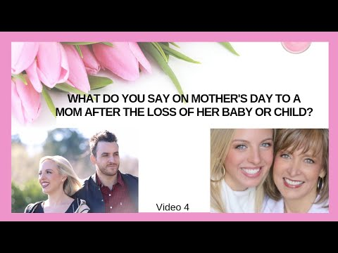 Words a Sister Can Say on Mother's Day After a Miscarriage, Stillbirth, Loss of a Baby or Child