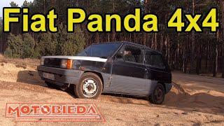 Fiat Panda 4x4 to terenowe pudełko na buty - MotoBieda