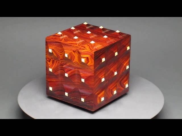 Cocobolo Pinnacle Box with Secret Compartment