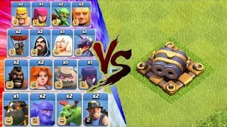 Double Cannon Level 8 Vs All Troops in Clash of Clans (LEAKED Gameplay !!!)