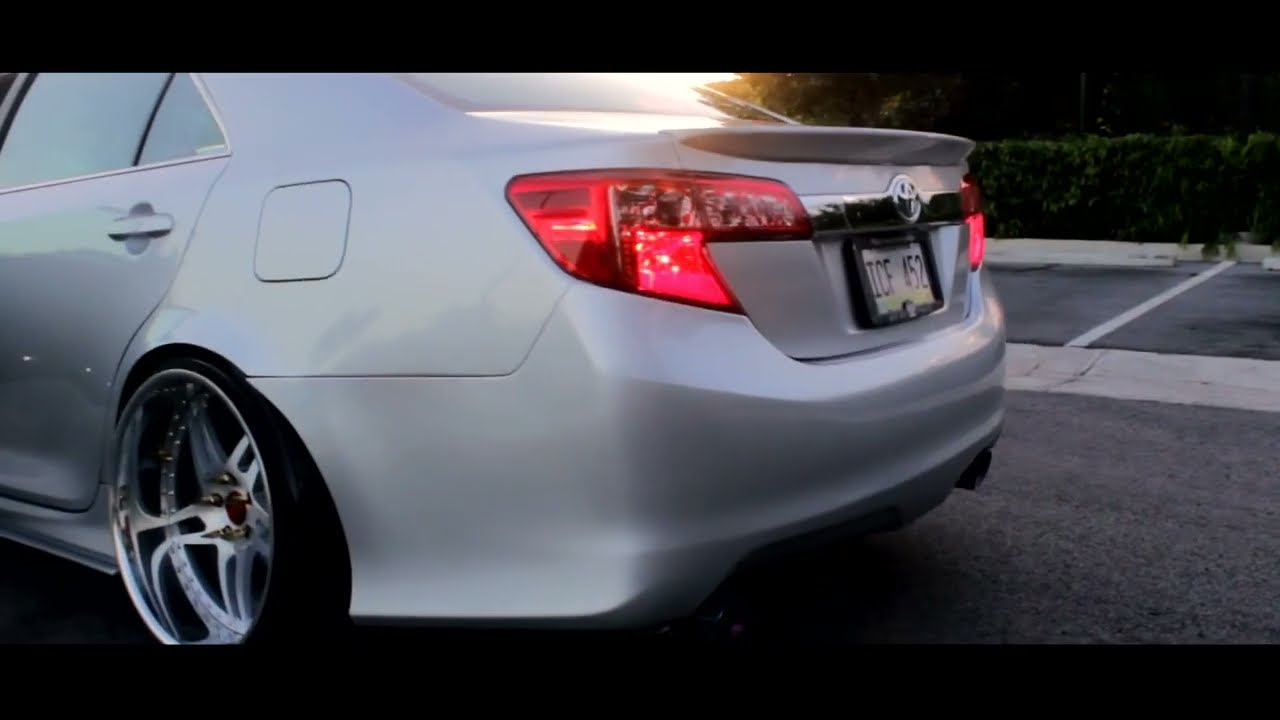 toyota camry bagged  youtube