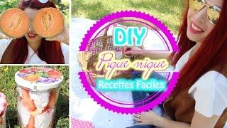 DIY: Pique-Nique facile et coloré !