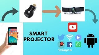 Any cast how to connect smart phone to projector/Tv