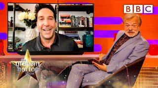 David Schwimmer teases the 'Friends' reunion @The Graham Norton Show ⭐️ BBC