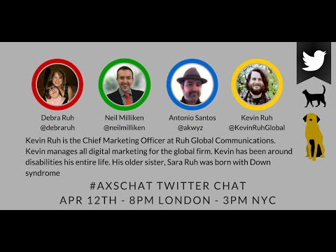 AXSChat with Kevin Ruh. Chief Marketing Officer at Ruh Global