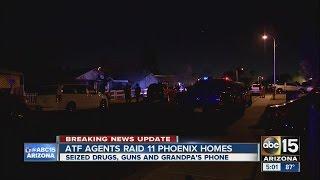 ATF agents raid Phoenix homes