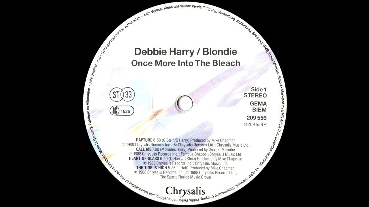 Resultado de imagen para blondie in 1988