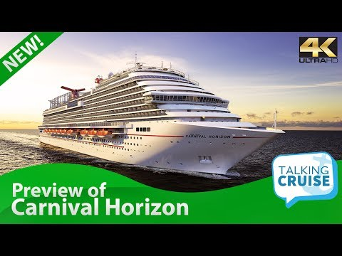 Carnival Horizon - New Cruise Ship Preview