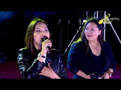 Tibetan song Tendrel Sangpo by Tenzin Dolma & Tenzing Yangi in HIMALAYAN MUSIC FESTIVAL 2020 BYLKOP.
