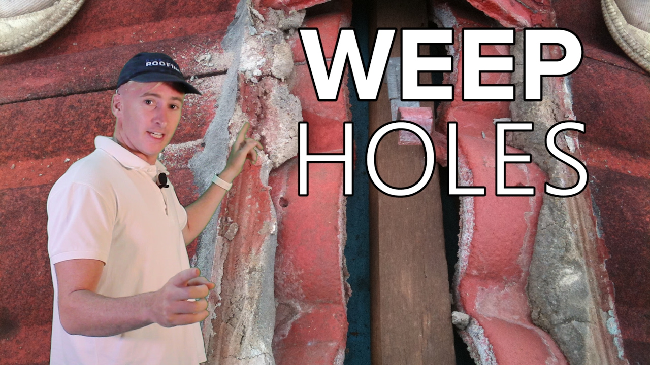 Weep Holes Ridge Capping Queensland Roofing Youtube