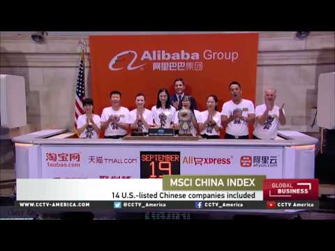 MSCI is adding 14 US-listed Chinese stocks to its indexes