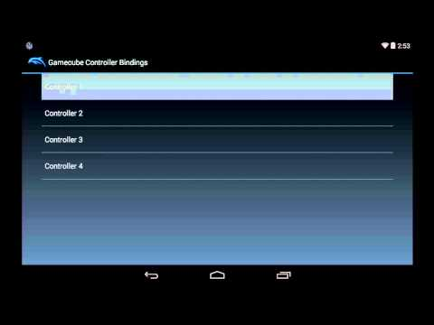 Dolphin Emulator Alpha 0.13 Settings / Configuration for Android Nexus 7 [720p HD] - 동영상