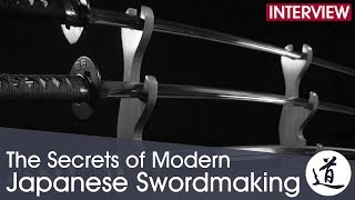 The Secrets of Modern Japanese Swordmaking - Iaito Manufacture at the Minosaka Workshop